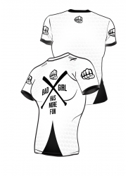 Fit Shirt BAD GIRL White