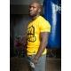 T-shirt OUTLINE 2 Yellow-Black