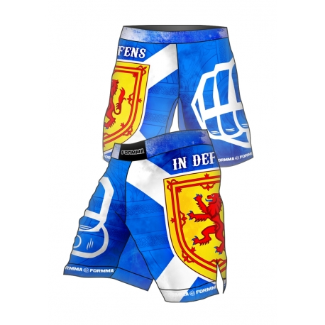 Fight Shorts SCOTLAND In Defense
