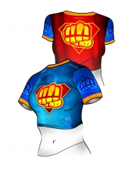 Belly Shirt SUPERGIRL Punch