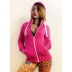 ZIP Hoody POWER Pink