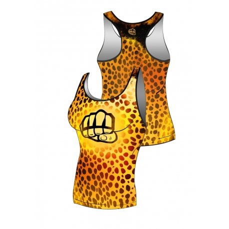 Tank Top PANTHER Yellow