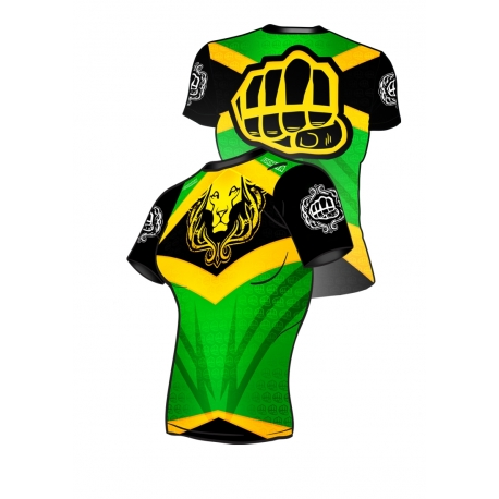 Fit Shirt JAMAICA Lion