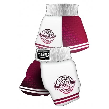 Muay Thai Shorts PLUM