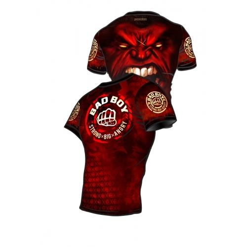 Rashguard BAD BOY Red