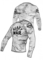 Rashguard READY for WAR White