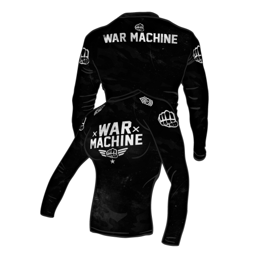 Fit Shirt WAR MACHINE Black