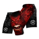 Fight Shorts BAD BOY Red