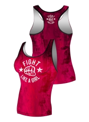 Tank Top FIGHT GIRL Pink