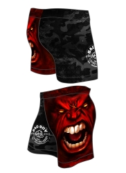 GYM Shorts BAD BOY Red
