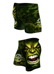 GYM Shorts BAD BOY Green