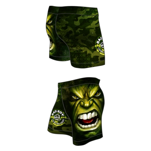 GYM Shorts BAD BOY Green