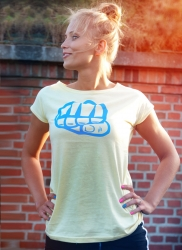 T-shirt SAND 4 Yellow-Blue
