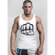 Tank Tops BIG FIST White