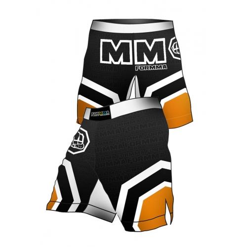 Fight Shorts OCTAGON Orange