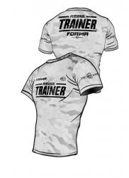 Rashguard PERSONAL TRAINER Army White