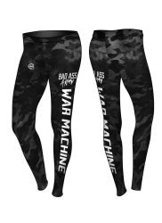 Leggings BAD ASS Army Black