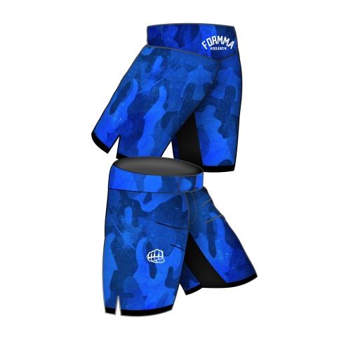 Fight Shorts SPORT Blue&Grey