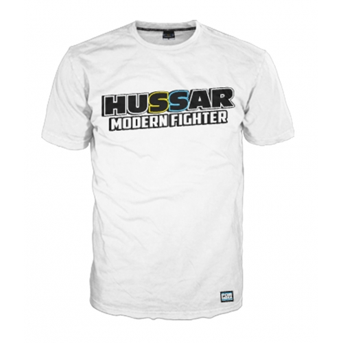T-shirt HUSSAR - White