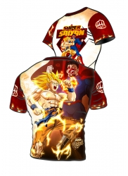 Active t-shirt SUPER SAIYAN Punch