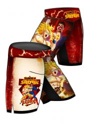 Fight Shorts SUPER SAIYAN Punch