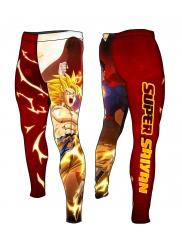 Compression Pants SUPER SAIYAN Punch