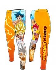 Compression Pants Son Goku POWER LEVELS