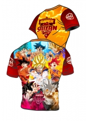 Active t-shirt Son Goku POWER LEVELS