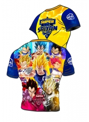 Active t-shirt Vegeta POWER LEVELS