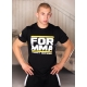 T-shirt FIGHT DMC Yellow