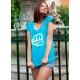 T-shirt SKY Blue-White