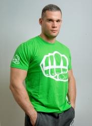 T-shirt OUTLINE 2 Green-White