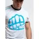 T-shirt OUTLINE 1 White-Blue